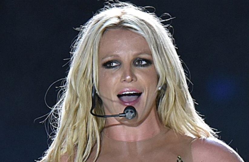 Britney Spears performs in Tel Aviv (photo credit: MIRIAM ALSTER)