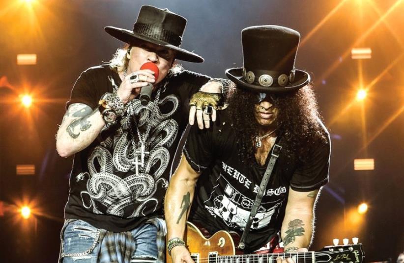 Guns N' Roses (photo credit: PR)