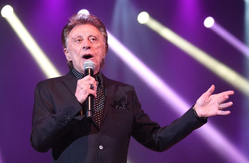 Frankie Valli and the Four Seasons (photo credit: YUVAL EREL)