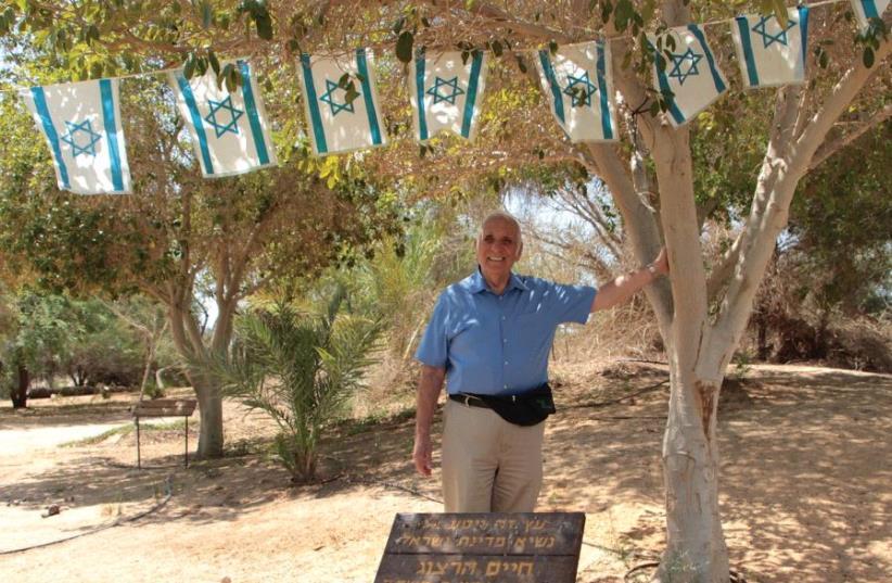 """Bob """"Mr. Arava"""" Levine (photo credit: JNF)"""