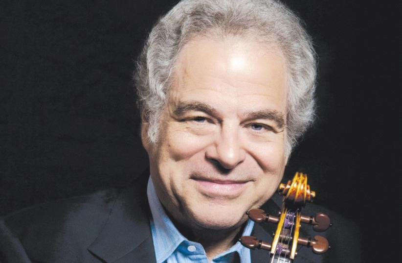 Genesis Prize winner Itzhak Perlman (photo credit: LISA MARIE MAZZUCCO)