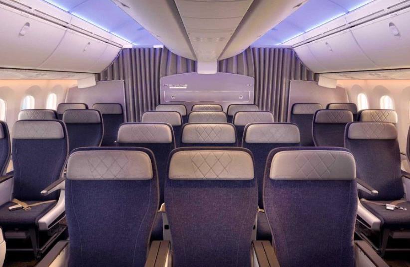 A look inside the new El Al Boeing 787 Dreamliner (photo credit: EL AL)