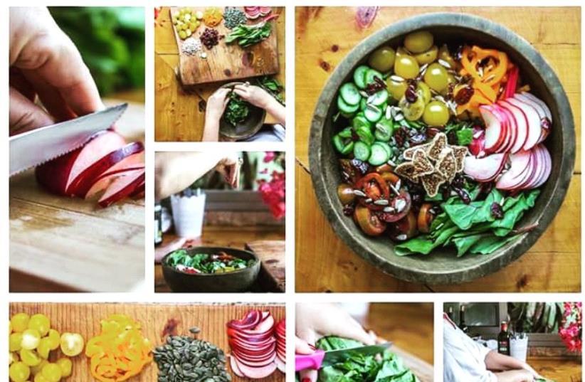 Israeli vegan food (photo credit: ALONA LAHAV)