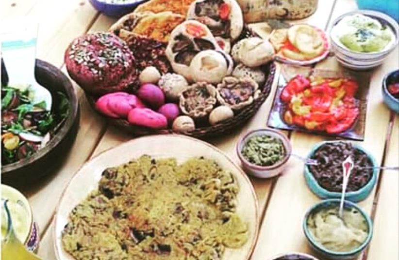 Israeli vegan food (photo credit: MICHAELA BANK TWEETO)