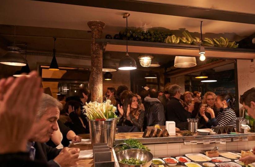 The Paris branch of Hamiznon restaurant (photo credit: Courtesy)