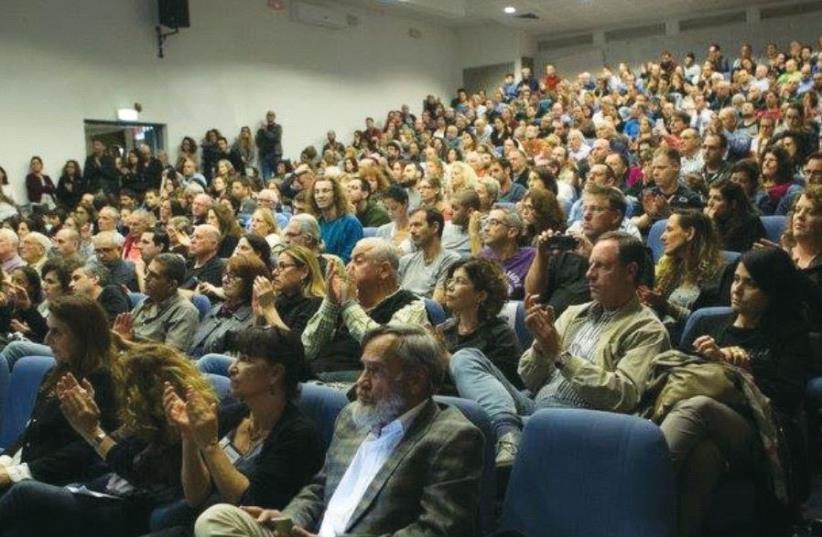A meeting of the Secular Forum in Tel Aviv (photo credit: FACEBOOK)