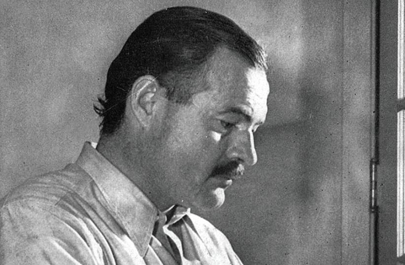 Ernest Hemingway (photo credit: Wikimedia Commons)