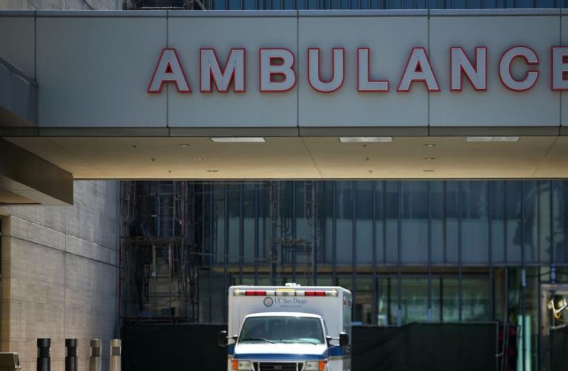 Ambulance (photo credit: REUTERS)