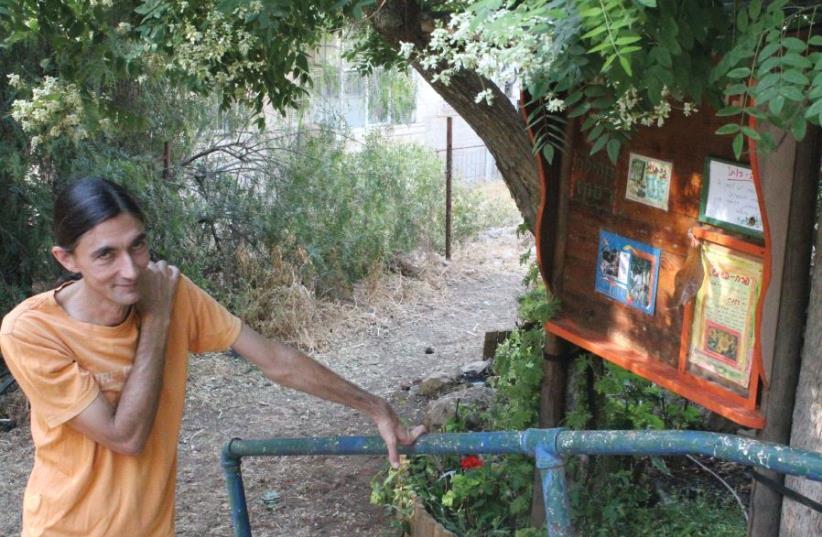 Yair Assaf-Shapira helped to found the Rassco community's Rachel Elyashar Garden a decade ago (photo credit: BARRY DAVIS)