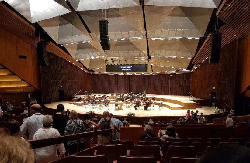 Israel Philharmonic Orchestra in Tel Aviv (photo credit: BECKY BROTHMAN)
