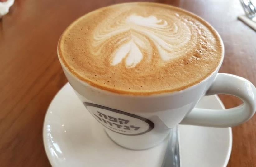 Coffee at Landwer Cafe in Tel Aviv (photo credit: BECKY BROTHMAN)
