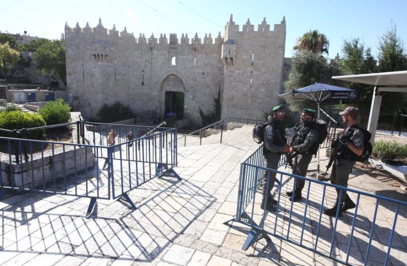 Damascus Gate (photo credit: MARC ISRAEL SELLEM)