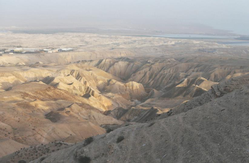 WHO WILL patrol the Jordan Valley (photo credit: REUTERS)