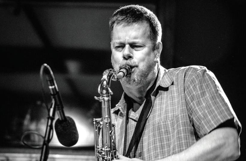 Jazz musician Ken Vandermark (photo credit: GEERT VANDEPOELE)