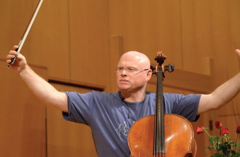 Hillel Zori has been teaching cello in keshet Eilon for 10 years (photo credit: PR)