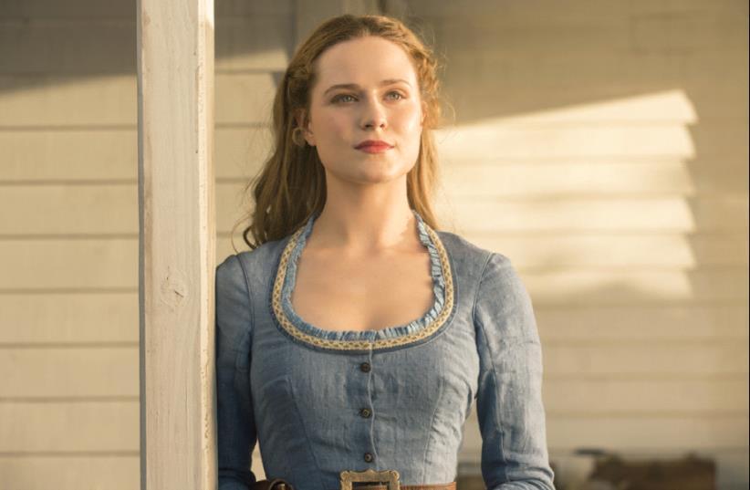 EVAN RACHEL WOOD stars in HBO's fantasy series 'Westworld.' (photo credit: HBO)