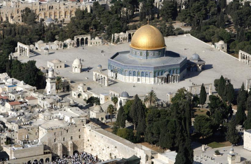 THE TEMPLE MOUNT in Jerusalem (photo credit: REUTERS)