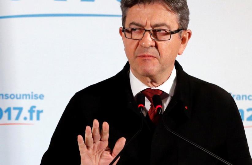 Jean-Luc Melenchon.  (photo credit: REUTERS)
