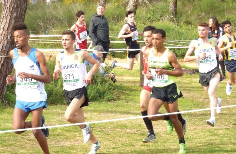 Eshetu Werku (third from left). (photo credit: Courtesy)