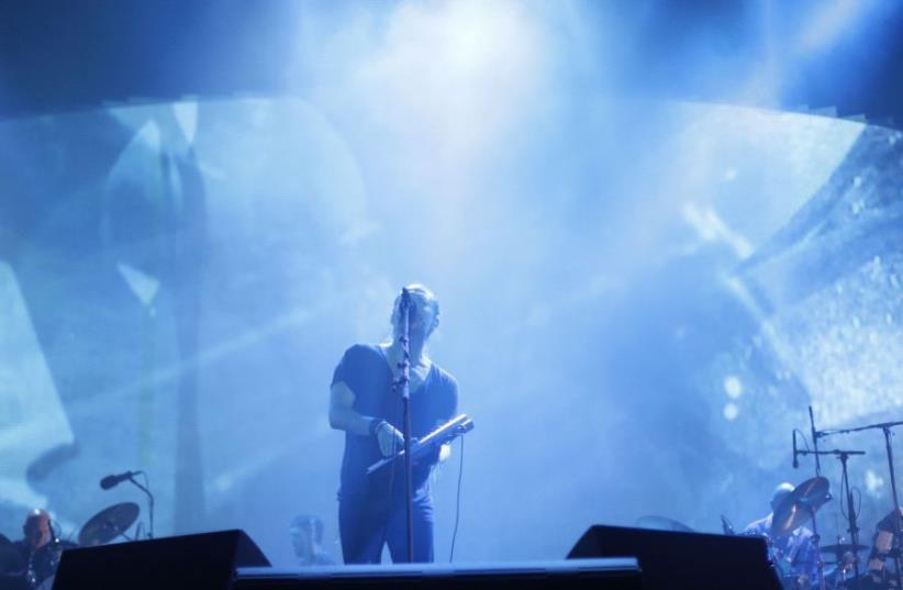 Radiohead concert in Israel, July 19 (photo credit: LIRON SCHNEIDER/ARIEL EFRONI)