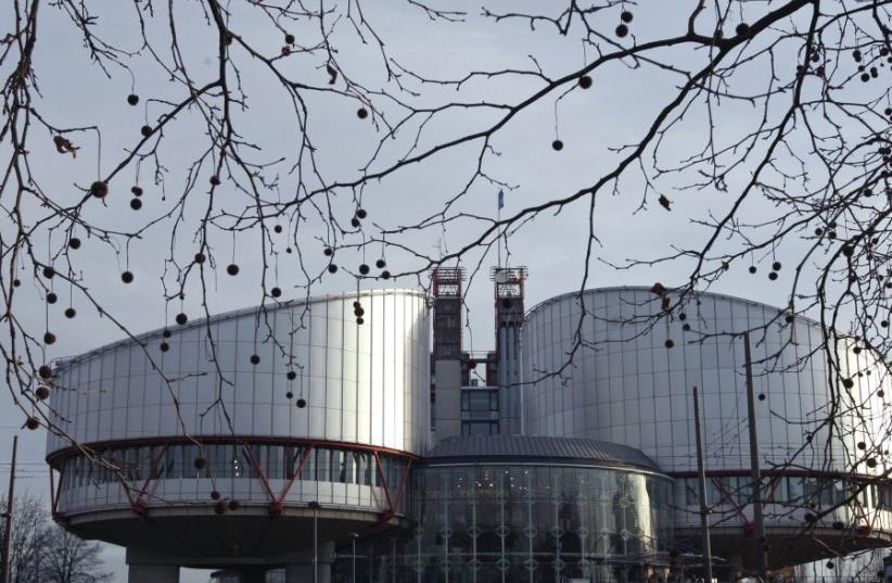 The European Court of Human Rights in Strasbourg, France (photo credit: VINCENT KESSLER/ REUTERS)