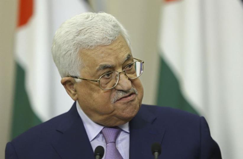 Palestinian Authority President Mahmoud Abbas (photo credit: REUTERS)