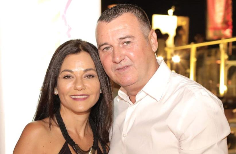 Sigal Kotler Levy and Avi Piatok owners of Sabon  (photo credit: ASSAF RAVIVO)