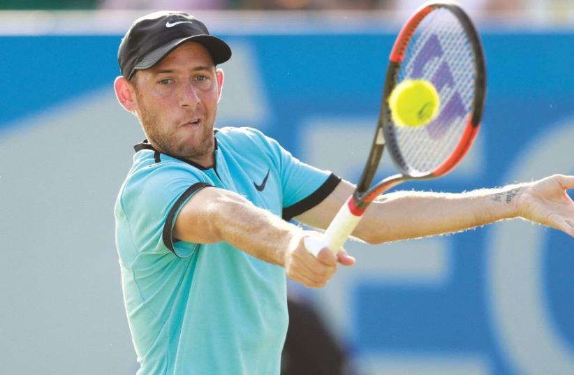 Israeli tennis star Dudi Sela (photo credit: REUTERS)