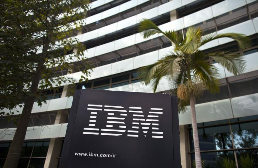 IBM's Israel office in Petah Tikva (photo credit: NIR ELIAS / REUTERS)