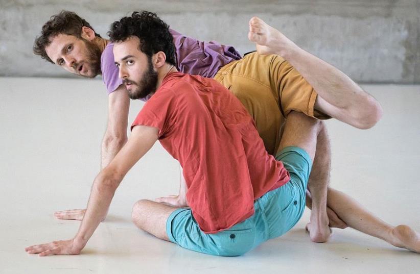 Uri Shafir dancing 'Habitat' (photo credit: EFRAT MAZOR)