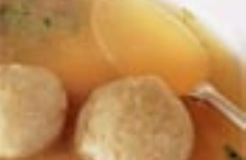 matzah ball soup 88 (photo credit: Courtesy)