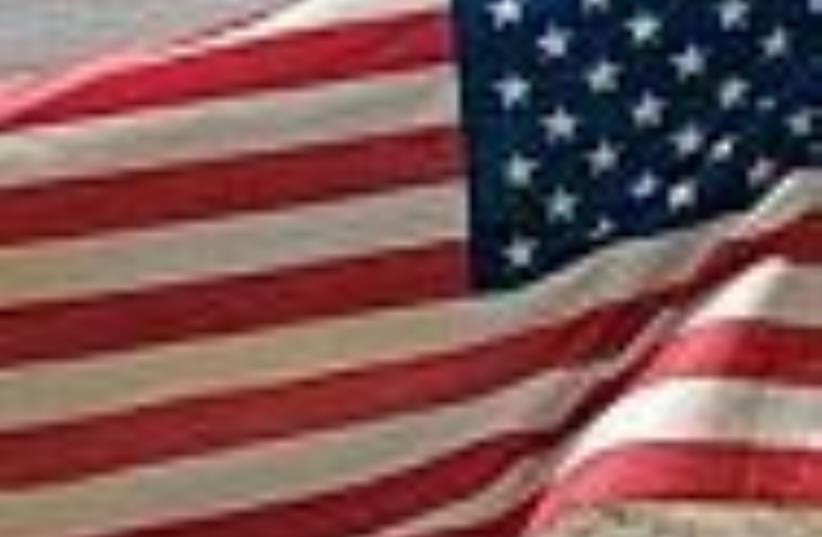 US flag 88 ap (photo credit: AP)