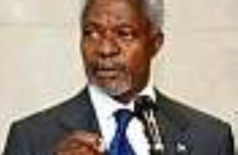 kofi anan un 88 (photo credit: AP)