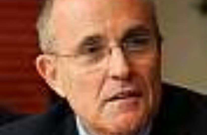 Giuliani  (photo credit: AP)