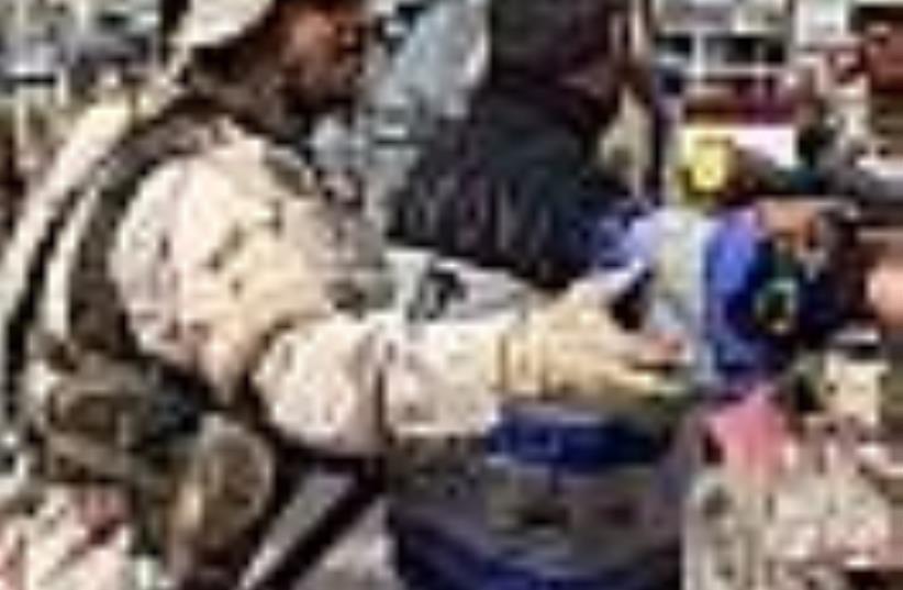 iraq soldier (photo credit: AP)