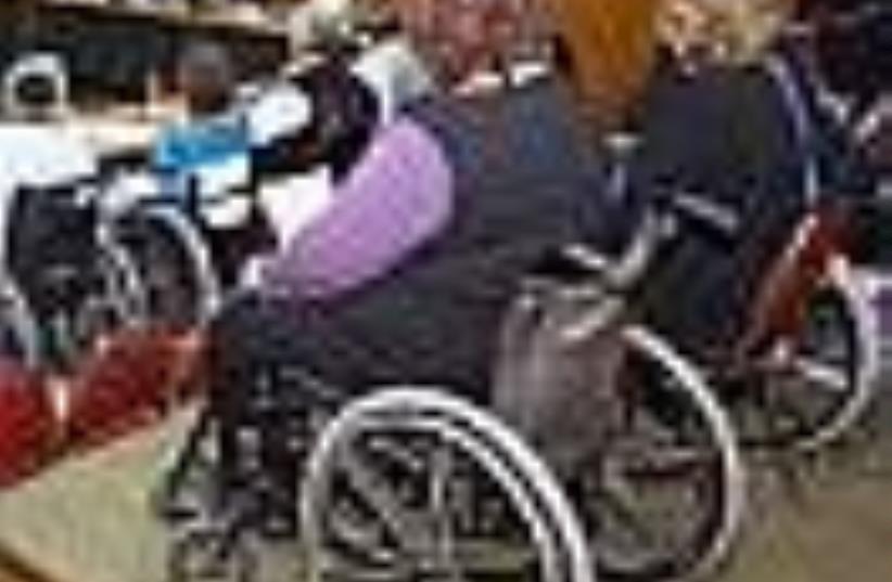disabled (photo credit: Ariel Jerozolimski)