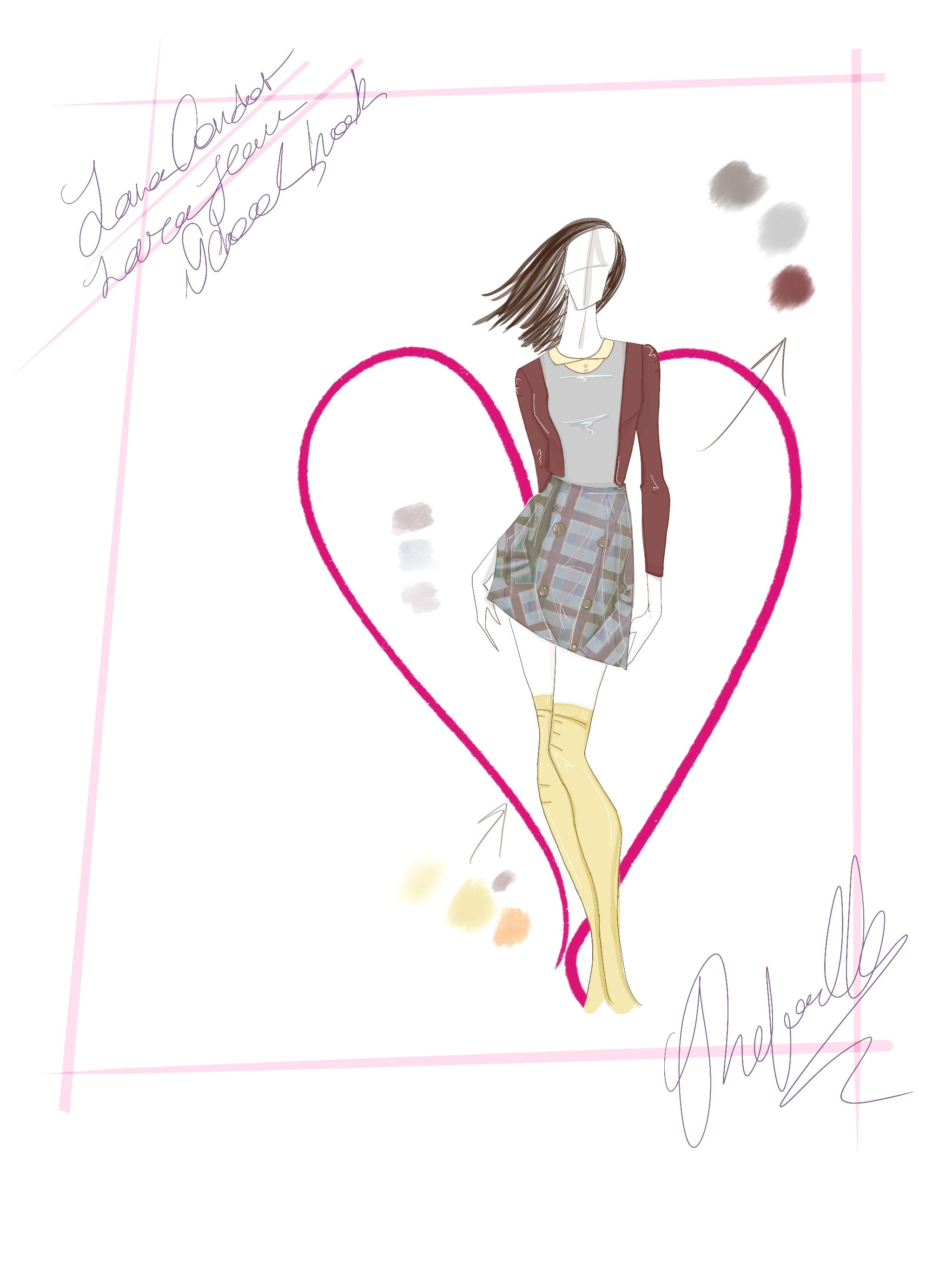 Sketch by Rafaella Rabinovich / Courtesy
