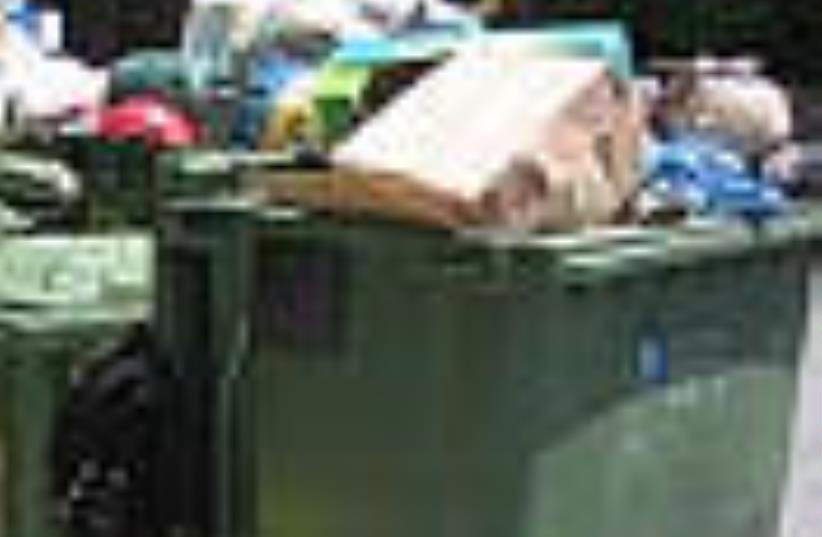 garbage 88 (photo credit: Courtesy)
