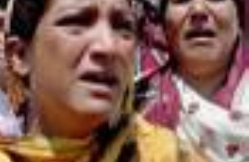 Pakistan bombing 88 (photo credit: AP)