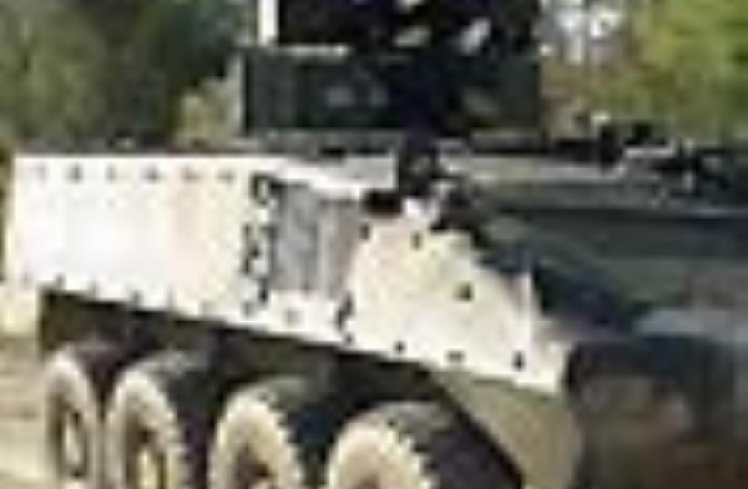 elbit tank 88 (photo credit: Courtesy)