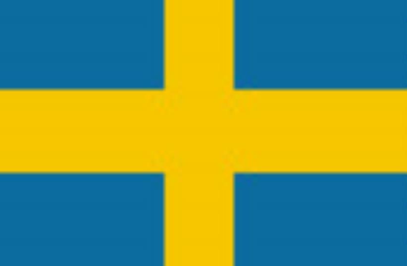 sweden flag 88 (photo credit: Courtesy)