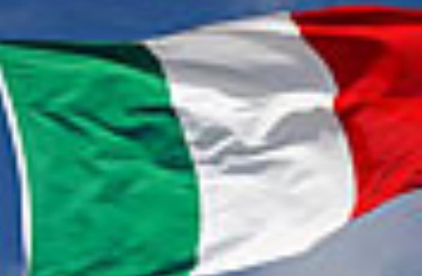 Italy Flag 88 (photo credit: Courtesy)
