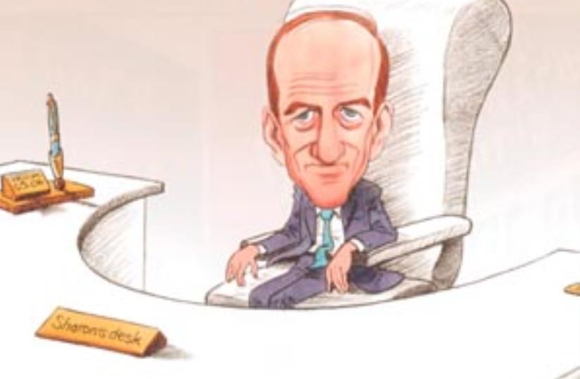 olmert cartoon 298 (photo credit: Cartoon by Michel Kichka)