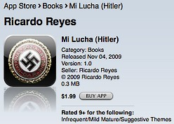 nazi sign on iphone app 248.63