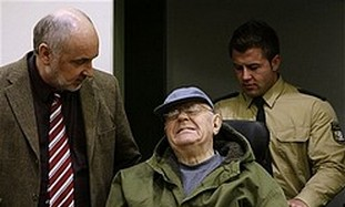 Accused Nazi death camp guard John Demjanjuk.