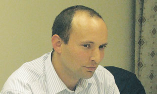 Naftali Bennet, new director-general of the Counci
