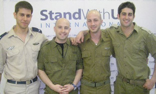 FROM LEFT: Yoav Earon and Avi Webber will be touri