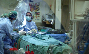 Doctors in the OR