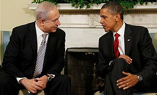 Obama and Netanyahu meet in July 2010