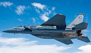 Illustrative photo: F-15 Silent Eagle